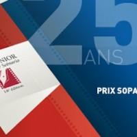 Clémence Madeleine-Perdrillat finaliste du Prix Sopadin Junior du meilleur scénario.