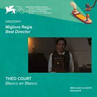 Prix à Venise pour Blanco en Blanco !
