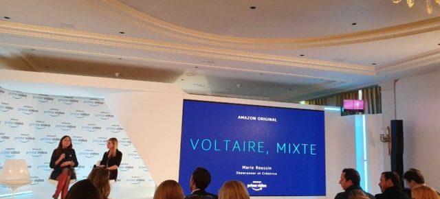 Voltaire, Mixte se tourne pour Amazon